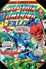 Marvel Captain America & The Falcon/Gil Kane Vintage Wooden Wall Art 1 19