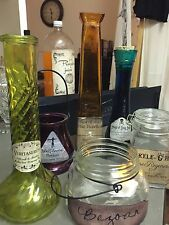Lot Of 6 Harry Potter Potions Bottles Various