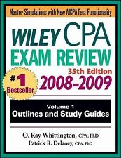 Wiley CPA Examination Review, Outlines and Study Guides (Wiley CPA Examination