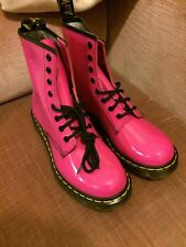 Dr Martens 1460 Patent Pink Boots UK 6