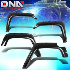 FOR 07-14 TOYOTA FJ CRUISER GSJ15W FENDER WHEEL FLARES RIVET BLACK ABS PLASTIC