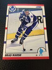 Brad Marsh  Maple Leafs 1990-1991 Score #219