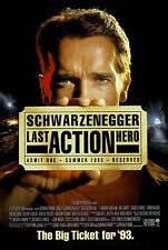 "Last Action Hero movie poster (a) 11"" x 17"" - Arnold Schwarzenegger"