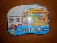 New Vtech V.smile Baby Disney Winnie the Pooh game cartridge 9-36 mo