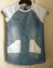 Denim cotton dress by Next size 5 years