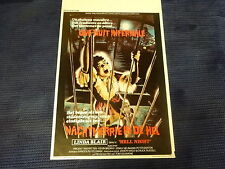 ORIGINAL MOVIE POSTER / AFFICHE CINEMA - HELL NIGHT ( LINDA BLAIR )