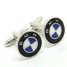 NEW Stylish Cuff Link BMW car Logo Men's Wedding Cufflinks
