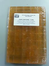 2 LBS HONEY MELT AND POUR SOAP BASE  SOAP MAKING SUPPLIES