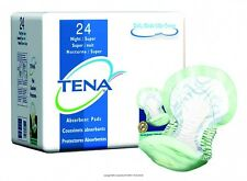 CASE/48!! HEAVY ABSORBENCY!! TENA Night Super Bladder Control Pads Incontinence