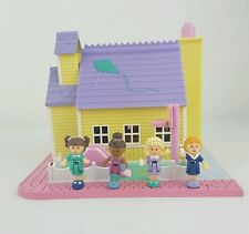 vintage polly pocket Schoolhouse - Pollyville 100%Complete 1993 excellent cond..