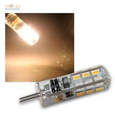 LED-Stiftsockel-Lampe G4, 24 SMD LEDs 100lm warmweiß Leuchtmittel G 4 12V Birne