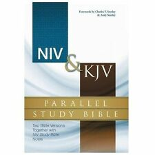 NIV & KJV PARALLEL STUDY BIBLE [9780310432739] -  (HARDCOVER) NEW