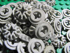 LEGO 6589 @@ Technic, Gear 12 Tooth Bevel @@  GREY (x5)
