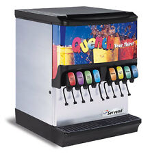 EXCELLENT!! Manitowoc 8 Head Countertop Soda Fountain Machine w/ Ice Bin