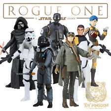 "STAR WARS ROGUE ONE 3.75"" FIGURE SET OF 7 - WAVE 1 - Sabine/Erso/K-2SO IN HAND!"