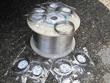 STAINLESS STEEL WIRE 0.5mm 10 meters - annealed - 304 grade  rabbit snare wire