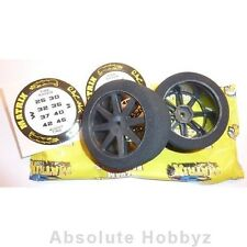 Matrix Sedan Rear 30mm Wide 40 Shore Carbon Wheel (1pr) - MX10P40KC