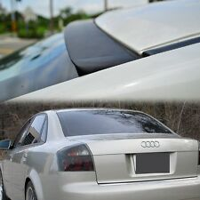 UNPAINT FOR AUDI A4 B6 S4 4DR 2002-2005 4D SALOON REAR ROOF SPOILER WING JDM VIP