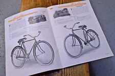 Original Columbia Bicycles Catalog,1920s Bicycle Advertising, Early Bicycle Sale
