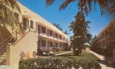 FLORIDA, HOLLYWOOD BEACH DOLPHIN APARTMENTS PM 1956 ADV(FL-H*)