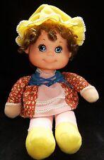 """Vintage 1976 MATTELL Baby Beans & Pets """" Little Miss Muffet"""" Soft Doll"""