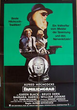 Alfred Hitchcock  FAMILIENGRAB  Kino Plakat A1  EA