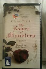 The Nature of Monsters by Clare Clark: Unabridged Cassette Audiobook (TT5)