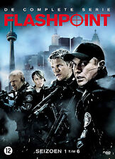 FLASHPOINT - COMPLETE SEASON 1 2 3 4 5 6 BOX SET -  DVD - PAL Region 2 - New