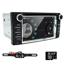 "6.2"" Stereo Radio Car DVD Player Screen Mirror GPS for TOYOTA RAV4 Corolla Camry"
