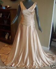 HOLLYWOOD Maggie Sottero Chicago Gold Wedding Gown Bridal Dress Size 6 @ cLOSeT