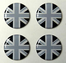 Range Land Rover Defender Discovery Union Jack 3D Doming Aufkleber 4er Set