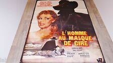 L'HOMME AU MASQUE DE CIRE  house of wax  !  vincent price affiche cinema