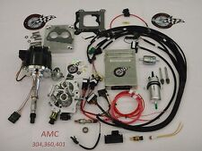 Jeep Fuel Injection System Complete TBI-For Stock 304, 360, 401 AMC Engine EFI
