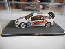 Ixo Ford Focus WRC #46 Monza Rally 2007 V. Rossi in White on 1:43 in Box