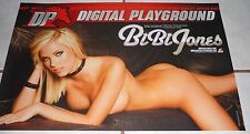Porn Star BiBi JONES Rare Digital Playground Poster!