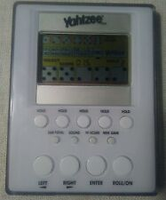 Yahtzee Electronic Handheld Game Pocket Travel Size Tested - Works! Used