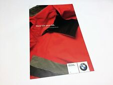 2004 BMW X5 Gear Accessories Brochure