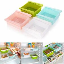 Kitchen Fridge Freezer Space Saver Organizer Storage Rack Shelf Holder