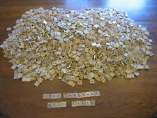 4001 WOOD SCRABBLE TILES FOR ARTS & CRAFTS JEWELRY