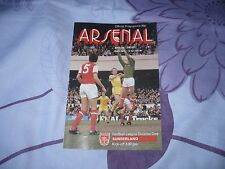 ARSENAL V SUNDERLAND. DIV. 1. 18.OCT.1980. SAISON 1980-1981.