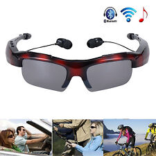 A2DP Stereo Music Bluetooth Sunglasses Headset For Samsung Galaxy S7 S6 S5 S4 S3