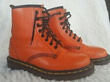 DOC MARTENS Orange Boots MADE IN ENGLAND Air Ware Vintage UNISEX 5UK US: W8 M6