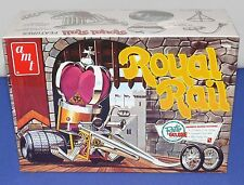 AMT Royal Rail 1/25 Retro Deluxe Reissue 2009 Hot Rod  Plastic Model Kit New
