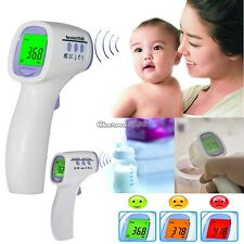 Digital Non-contact IR Body Forehead Thermometer for Infant Adult Human C1MY