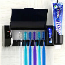 Clean Well Time BCS-333 Toothbrush Sterilizer Toothpaste Holder For Family 220V