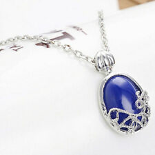 Hot Movie Vampire Diaries Katherine Anti-sunlight Lapis Lazuli Pendant Necklace