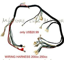 QUAD WIRING HARNESS 200 250cc Chinese Electric start Loncin zongshen ducar Lifan