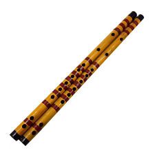 Long Bamboo Flute Clarinet Student Musical Instrument 7 Hole 42.5cmITUS