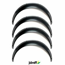 Universal Fender Flares JDMoverwide body wheel arches ABS 3.5 inch 4pcs