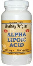 Healthy Origins, Alpha Lipoic Acid, 600mgx150caps;- SAME DAY DISPATCH BEFORE 2PM